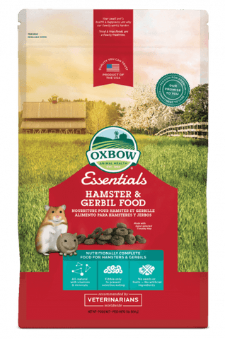 Oxbow Essentials - Hamster & Gerbil Food