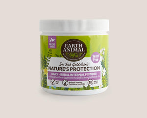 Earth Animal Nature's Protection™ Flea & Tick Daily Herbal Internal Powder - Yeast Free