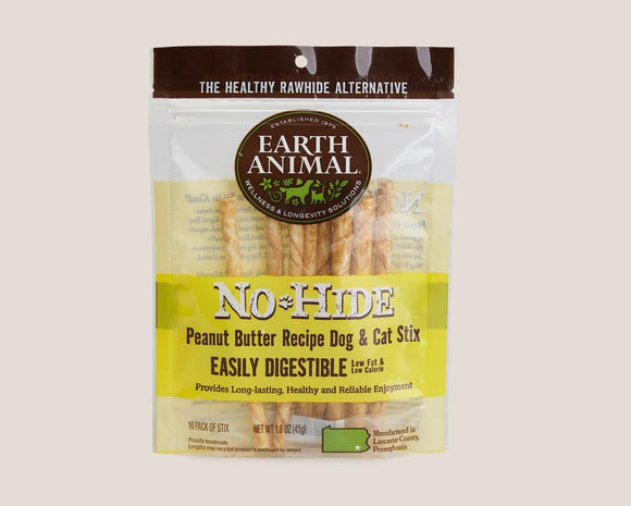 Earth Animal Peanut Butter No-Hide® STIX