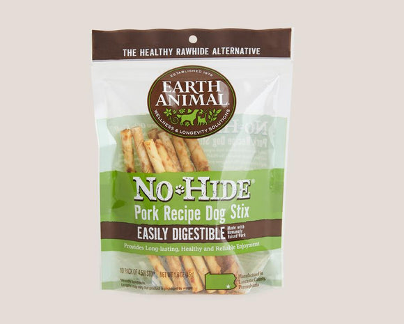 Earth Animal Pork No-Hide® STIX
