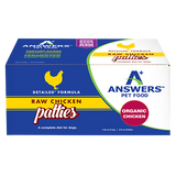 ANSWERS DOG FROZEN NIBBLES & PATTIES DETAILED CHICKEN