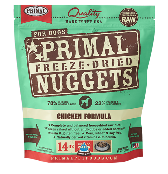 PRIMAL RAW FREEZE-DRIED CANINE CHICKEN FORMULA