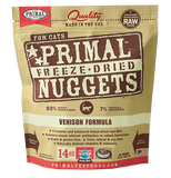 PRIMAL RAW FREEZE-DRIED FELINE VENISON FORMULA