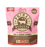 PRIMAL RAW FROZEN CAT BEEF & SALMON FORMULA