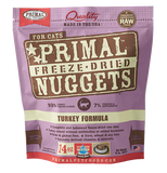 PRIMAL RAW FREEZE-DRIED FELINE TURKEY FORMULA