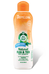 TROPICLEAN NATURAL FLEA & TICK SHAMPOO, PLUS SOOTHING