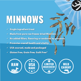 Vital Essentials Minnows Freeze-Dried Treats