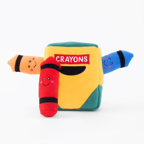 Zippy Paws Burrow - Crayon Box