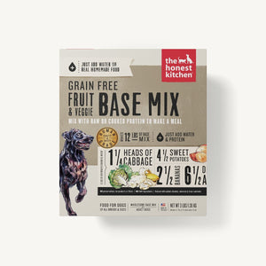 Honest Kitchen DEHYDRATED - GRAIN FREE FRUIT & VEGGIE BASE MIX (PREFERENCE)