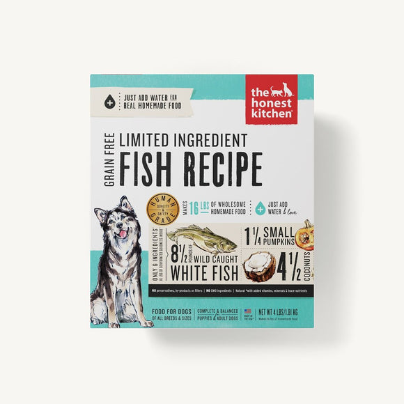 Honest Kitchen DEHYDRATED - LIMITED INGREDIENT FISH RECIPE (BRAVE)