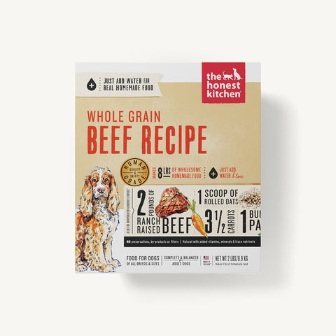Honest Kitchen DEHYDRATED - WHOLE GRAIN BEEF RECIPE (VERVE)