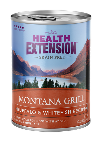 Health Extension Montana Grill Buffalo & Whitefish Recipe