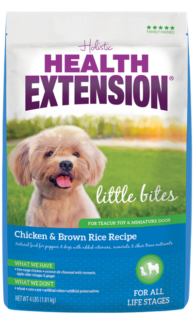 Health Extension Little Bites Chicken & Brown Rice Recipe