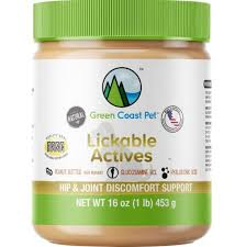 Green Coast Pet Lickable Actives- Hip/Joint & Discomfort Support
