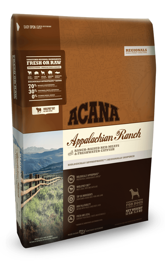 Acana Regionals Appalachian Ranch Dog