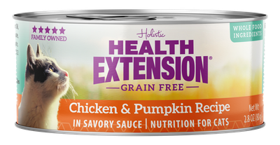 Health Extension Cat Grain Free Chicken & Pumpkin Recipe