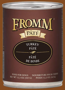 Fromm Dog Turkey Pate Cans