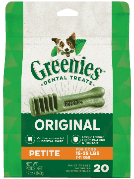 GREENIES™ Original Petite Dog Dental Treats 12oz