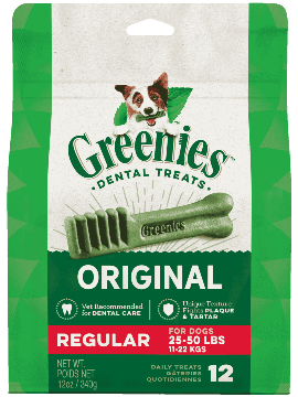 GREENIES™ Original Regular Size Dog Dental Treats 12oz
