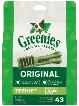 GREENIES™ Original TEENIE™ Dog Dental Treats 12oz