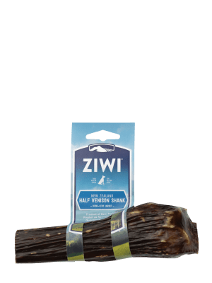 ZIWI Peak Venison Shank Bone Oral Chews for Dogs