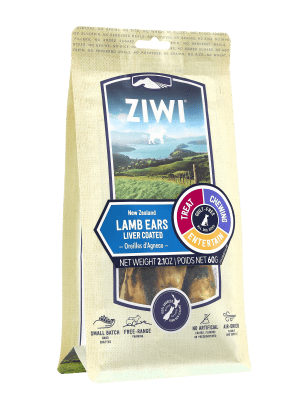 ZIWI Peak Lamb Ears - Liver Coated