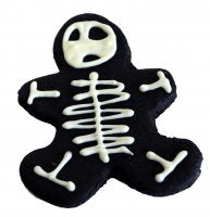 Preppy Puppy Skeleton Gingerbread Man