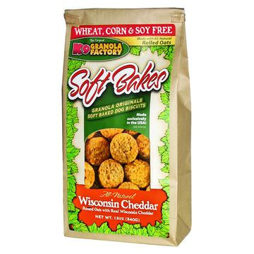 K9 Granola Factory Soft Bakes Wisconsin Cheddar