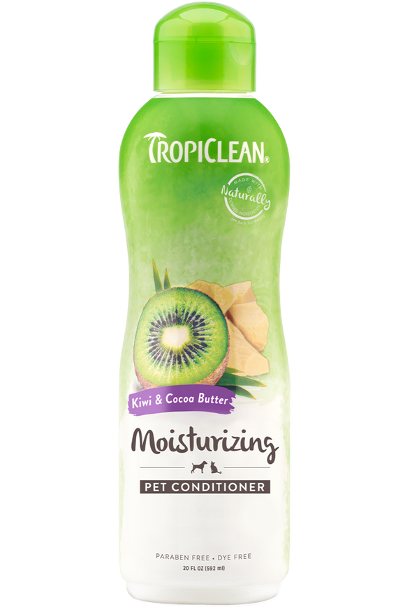 TROPICLEAN KIWI & COCOA BUTTER PET CONDITIONER