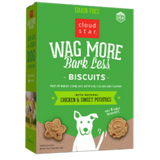 Cloud Star Wag More Bark Less Oven Baked Biscuits Chicken & Sweet Potatoes 14oz