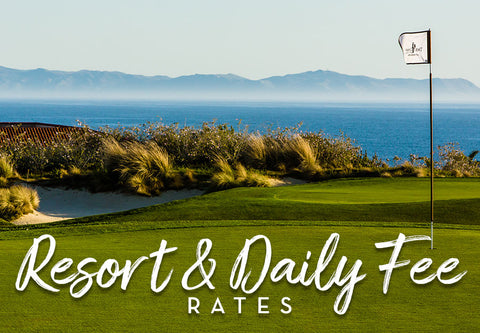 Links Prepaid Resort & Daily Fee Rates
