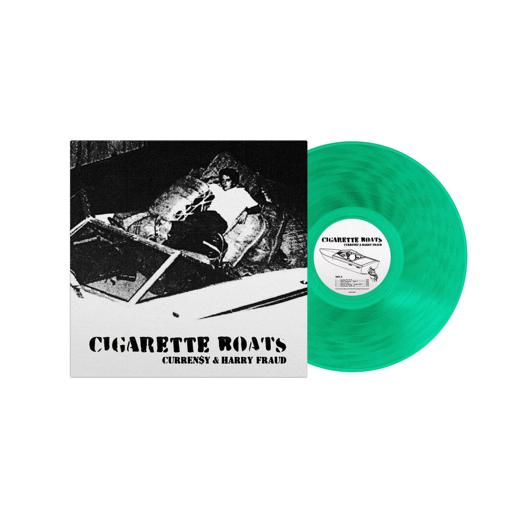 Cigarette Boats (Green Vinyl + T-Shirt Bundle)