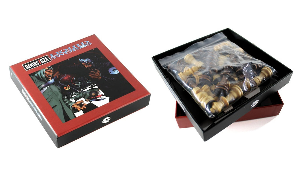 Liquid Swords (Deluxe CD Chess Set)