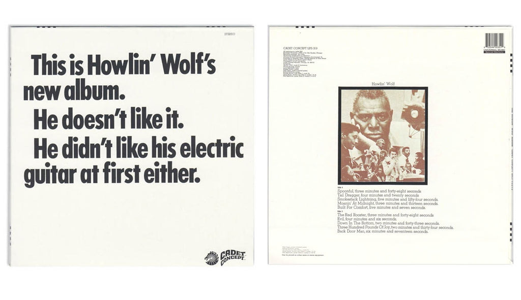 The Howlin Wolf Album (LP)