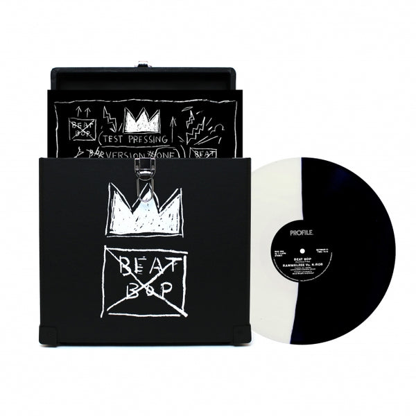 Beat Bop Record Box Bundle (Record Case and Vinyl)