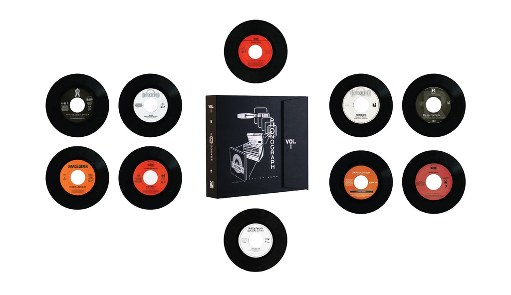 "Get On Down Jukebox Binder (Complete Set) (x10 Black Vinyl 7"")"
