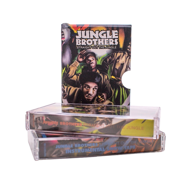 Straight Out The Jungle (Vocal & Instrumental 2 Cassette Slip Case)