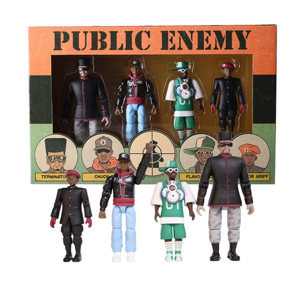 Action Figure Set (4 Figures)