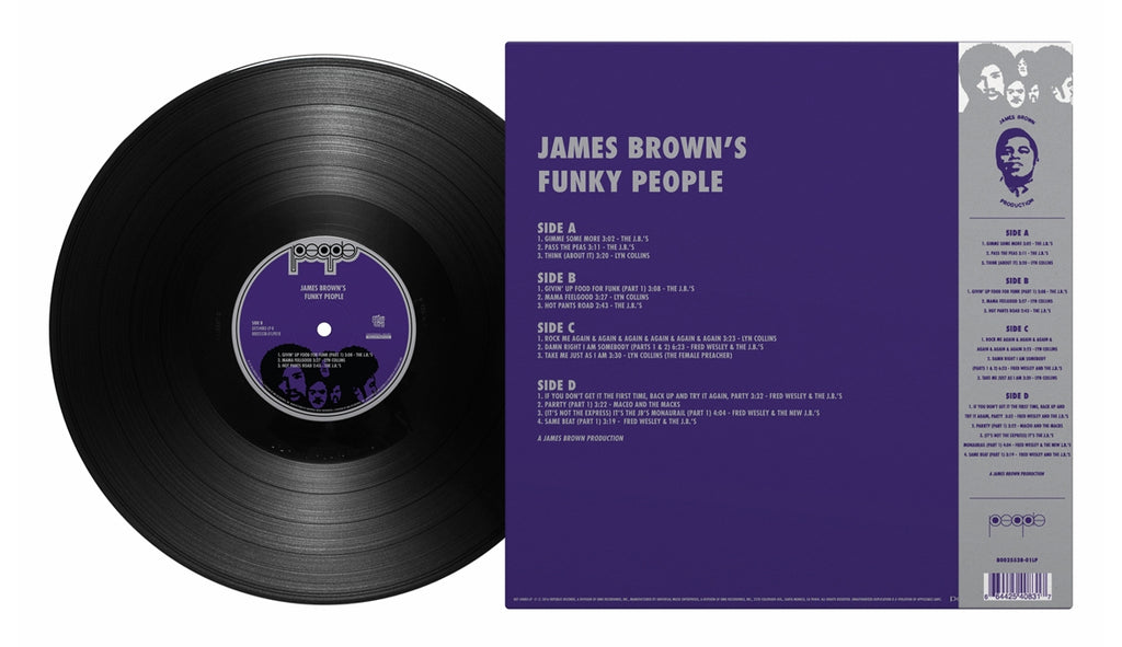 James Brown's Funky People Part 1 (2xLP)