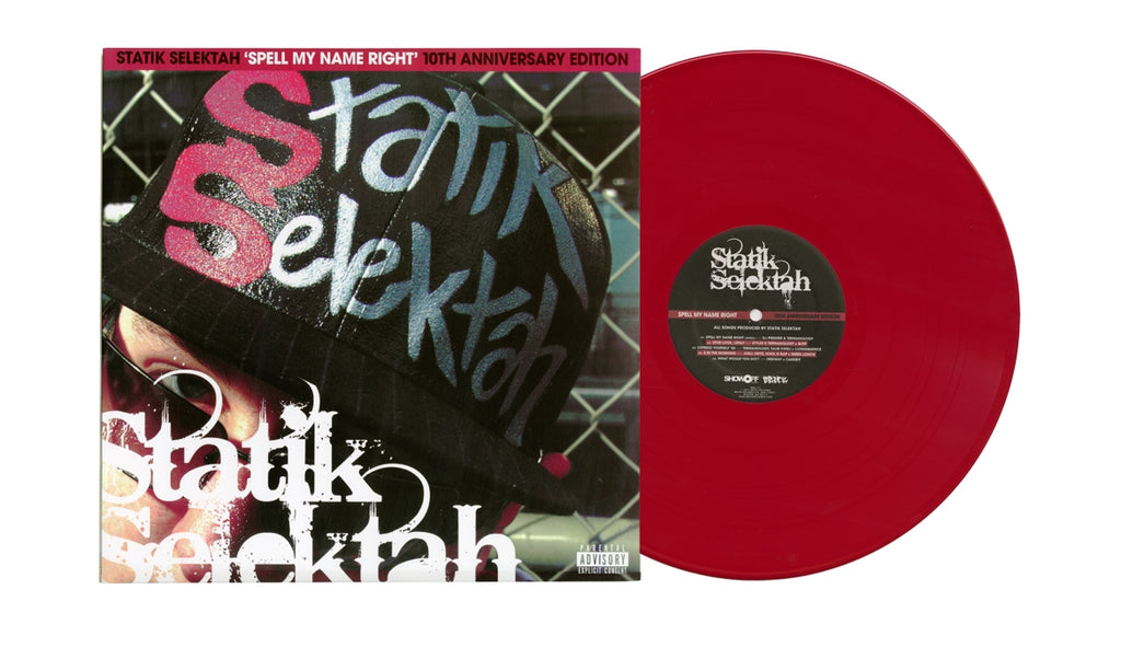 Spell My Name Right - 10th Anniversary Edition (2xLP Red Vinyl)