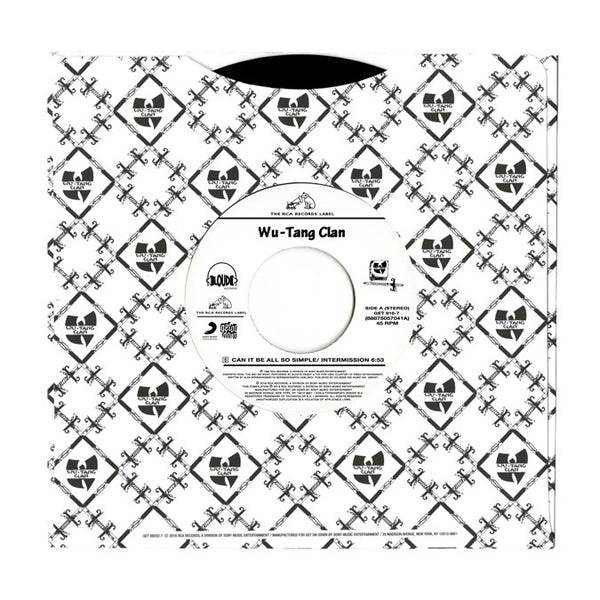 "Can It All Be Can It All Be So Simple b/w Da Mystery Of Chessboxin (7"")"