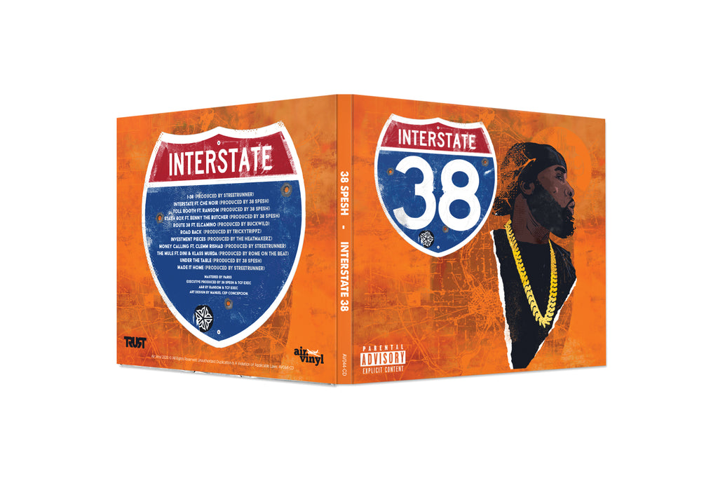 Interstate 38 (CD) (CEP Cover)