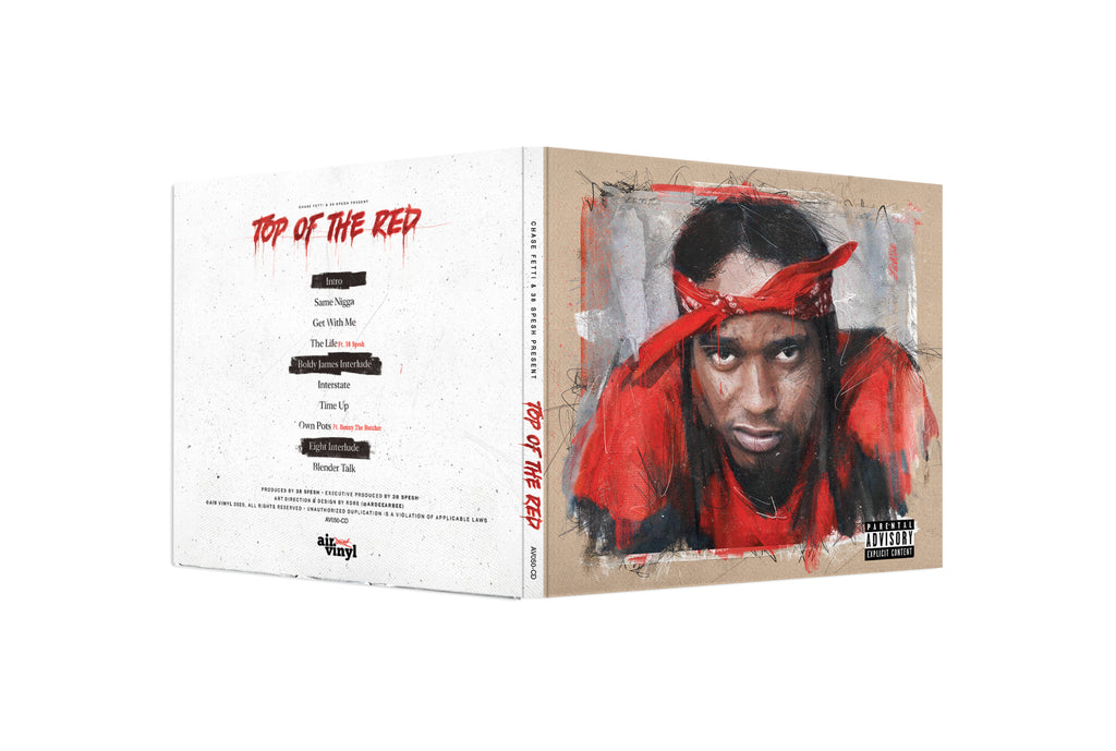 Top Of The Red (CD)