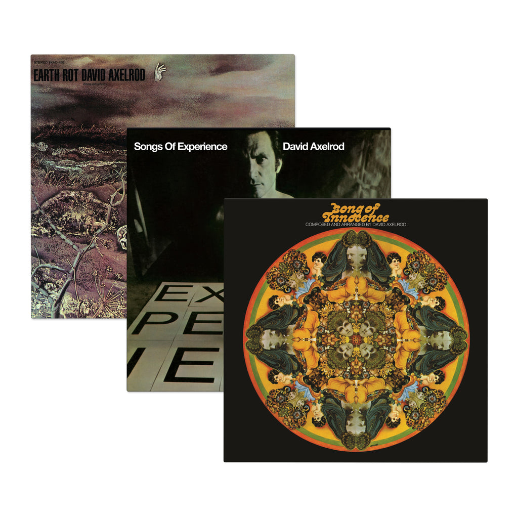 David Axelrod's Holy Trinity Vinyl Bundle (3xLP Bundle)