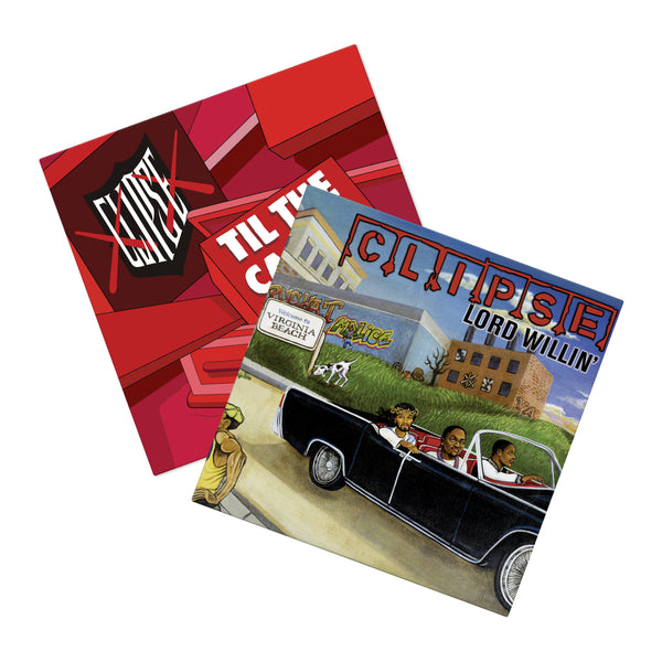Clipse Vinyl Bundle (3xLP Bundle)