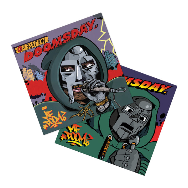 Operation: Doomsday Bundle (4xLP w/ 2 Poster)