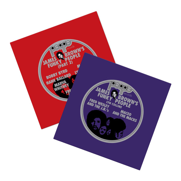 James Brown's Funky People Vinyl Bundle (4xLP Bundle)