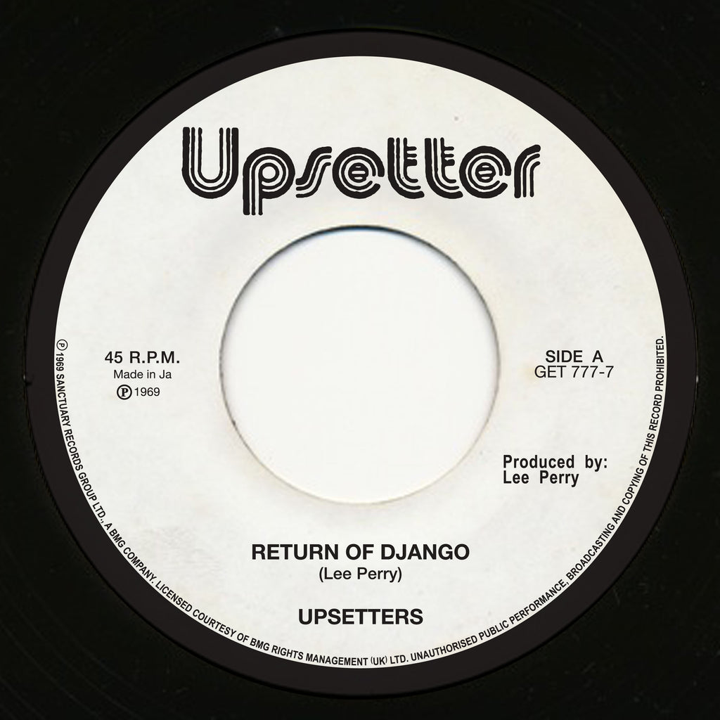 "Return Of Django / Dollar In The Teeth (7"")"