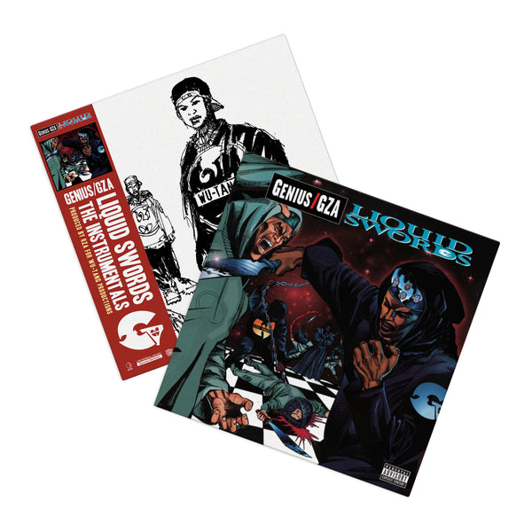 Liquid Swords plus Instrumentals (4xLP Bundle)