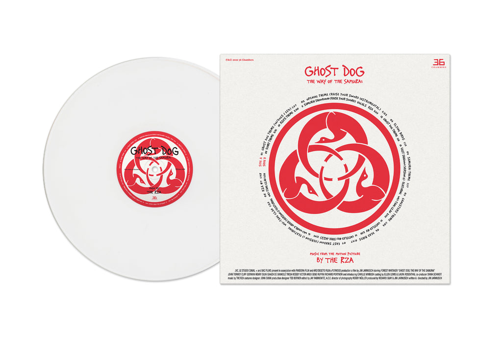 Ghost Dog: The Way Of The Samurai (Music From The Motion Picture) (White Vinyl) (LP)